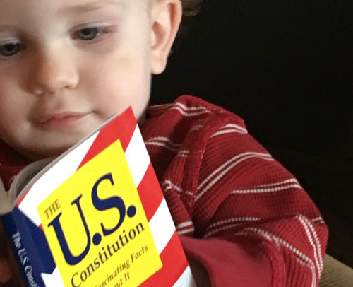 Child with Constitution