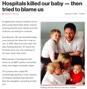 Hospitals Killed Our Baby
