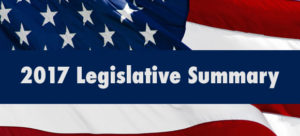 2017 Legislative Summary
