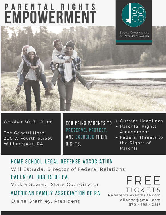 PA Parental Rights Event