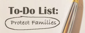 To-Do List: Protect Families