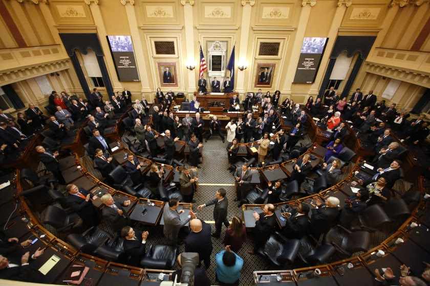 Virginia General Assembly in session